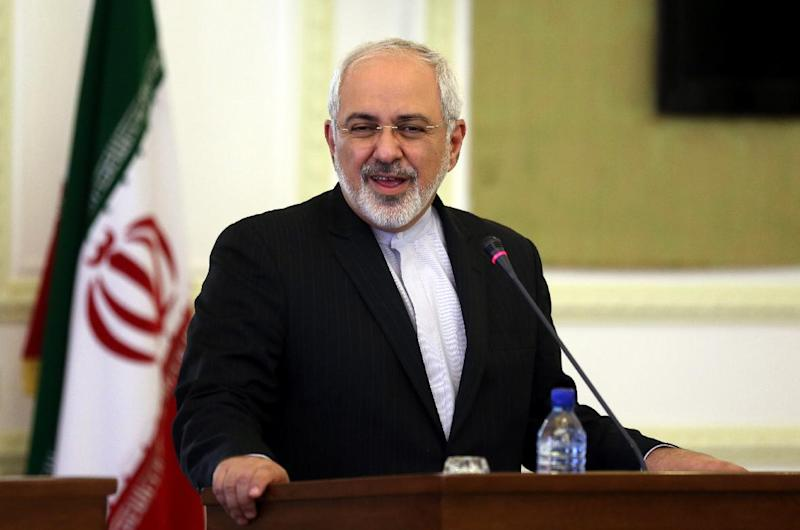 Iranian Foreign Minister Mohammad Javad Zarif in Tehran, on June 22, 2014