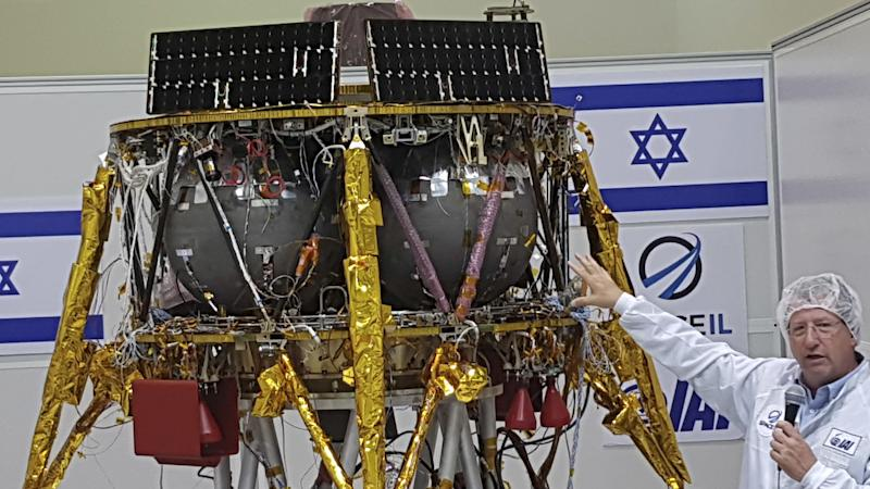 <p>If successful, Israel would become the fourth country to land a craft on the moon, after the US, the Soviet Union and China.</p>
