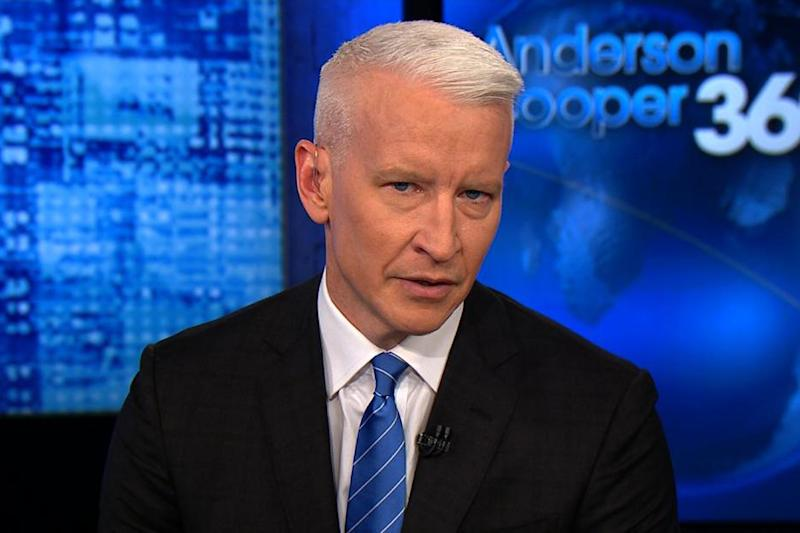 Anderson Cooper chokes up while discussing Trump's 'sh ...