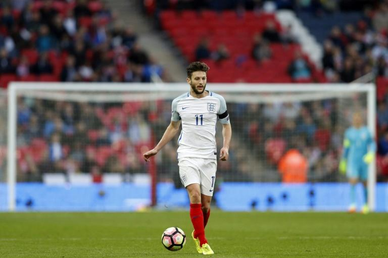 Lallana sustained a thigh injury during England's World Cup qualifier against Lithuania last weekend, but the Liverpool midfielder still managed to play the full 90 minutes