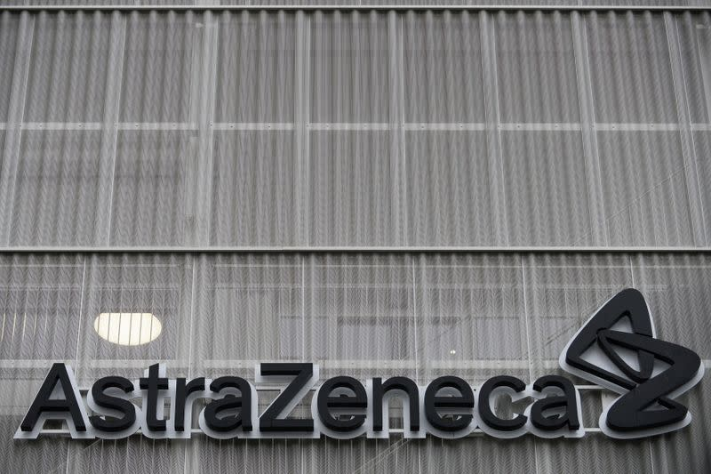 The AstraZeneca office building in Brussels