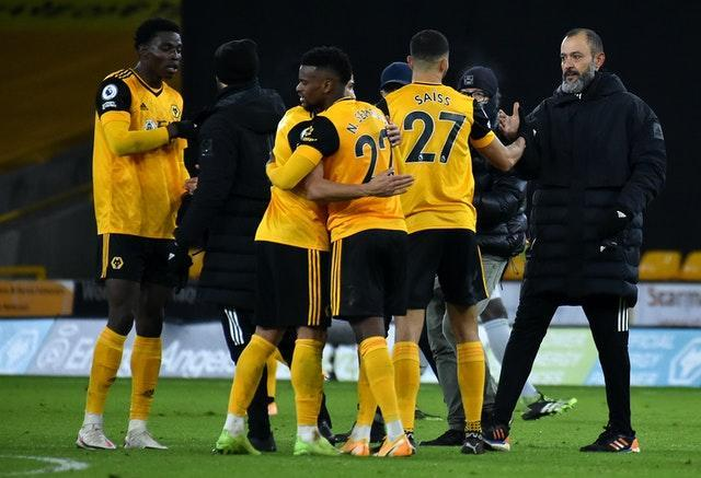 Nuno Espirito Santo relished the come-from-behind victory