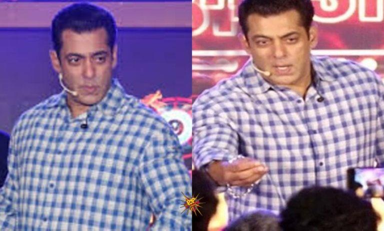 Bigg Boss 13 Launch : Salman Khan Gets Angry At Paparazzi, Asks Them To Put A Ban On Him If Required
