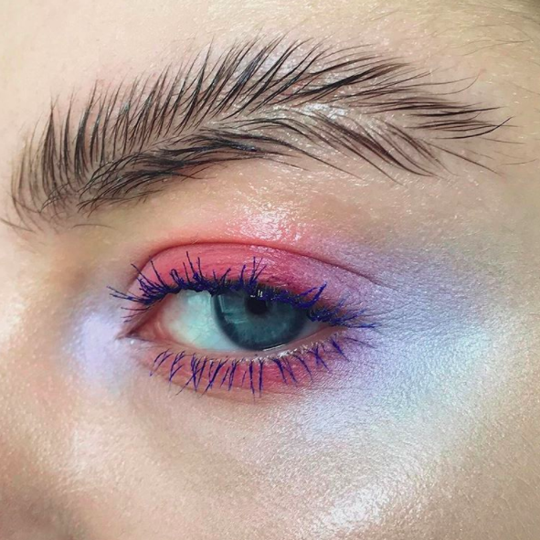 "<p><a rel=""nofollow"" href=""https://uk.style.yahoo.com/feather-brows-latest-bizarre-instagram-beauty-trend-085554985.html"">Feathered brows</a> first came to our attention back in April and we have to admit, they did initially ignite our interest. But we can't see ourselves replicating the aesthetic anytime soon… <em>[Photo: Instagram]</em> </p>"