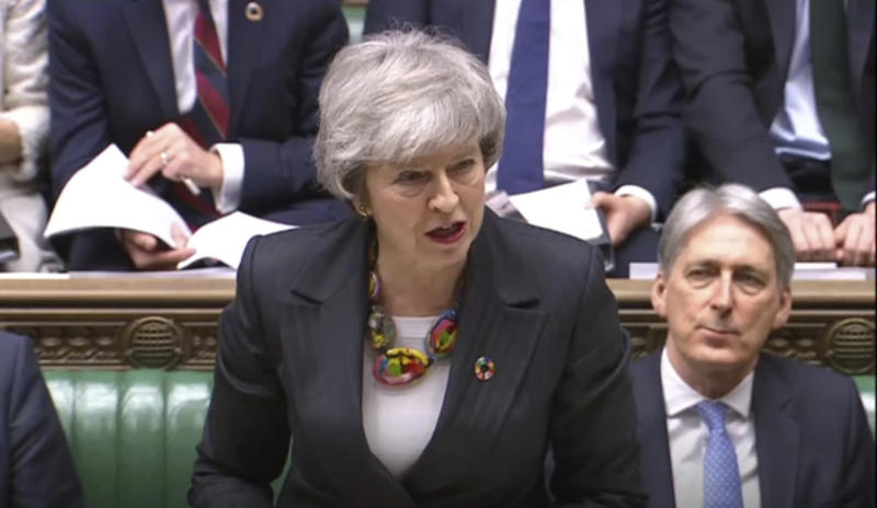 May delay: UK PM asks lawmakers for more time on Brexit