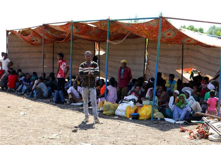Thousands of Ethiopians have fled to neighbouring Sudan