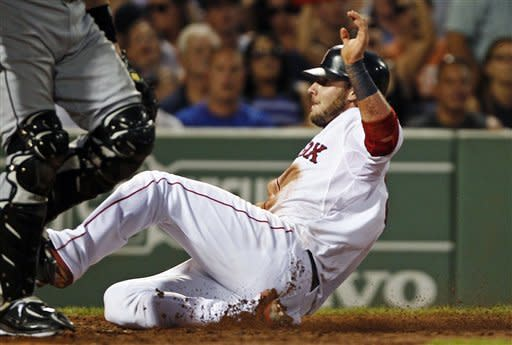 Nava's single caps rally, Red Sox top Marlins 6-5