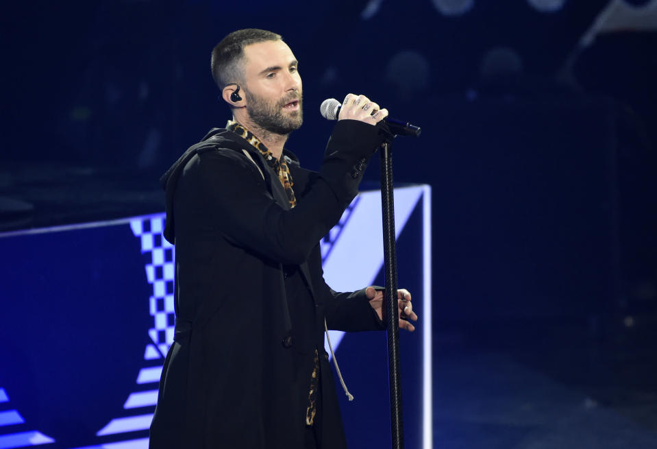 Maroon 5 reportedly wasn't the NFL's first choice for the Super Bowl halftime show this year. (Photo by Chris Pizzello/Invision/AP)