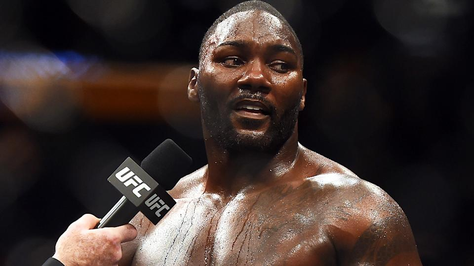 UFC fighter Anthony Johnson has been arrested on identity theft charges. (Photo by Jeff Bottari/Zuffa LLC/Zuffa LLC via Getty Images)