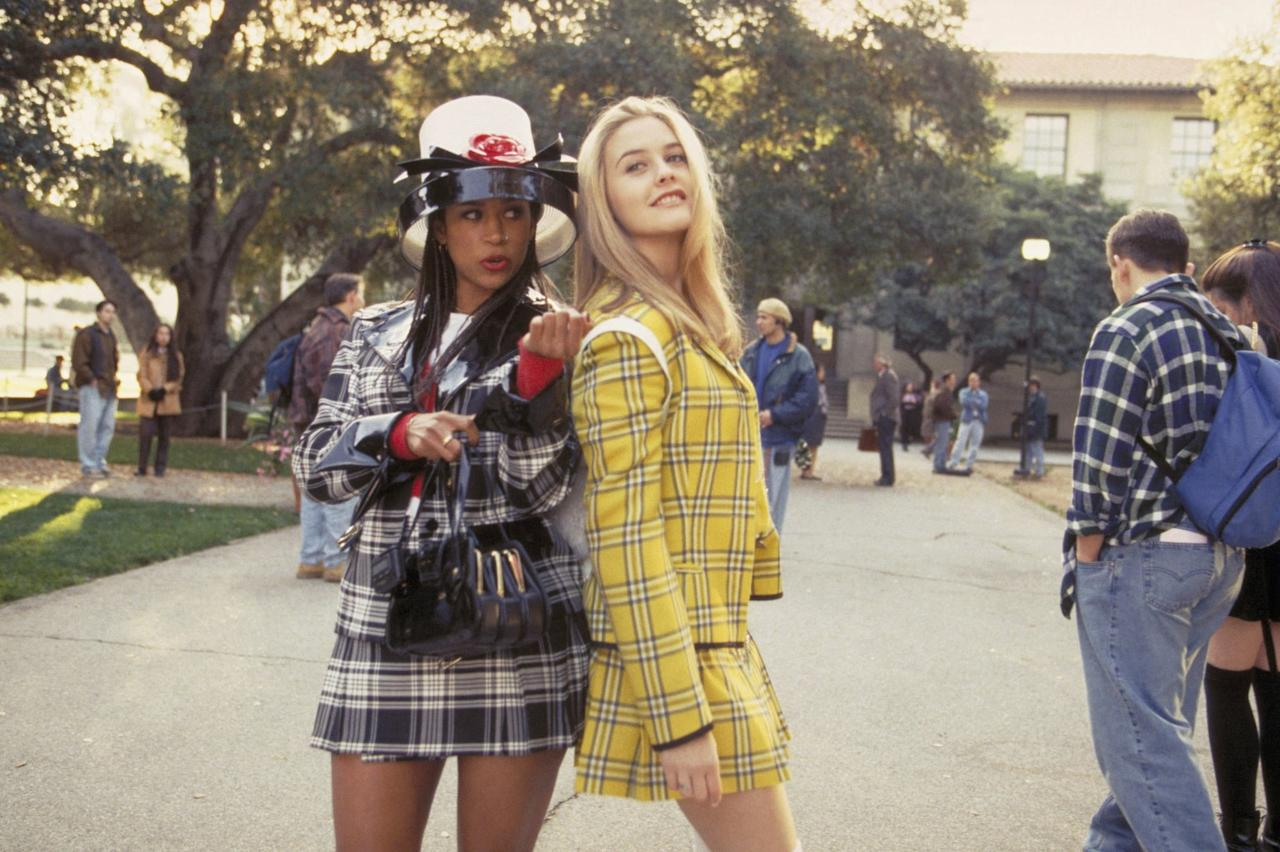 <p>In order to pull off best friends Dionne and Cher from <strong>Clueless</strong>, you'll need plaid miniskirts, matching blazers, knee-high socks, and lots of high-end shopping bags. As if!</p>