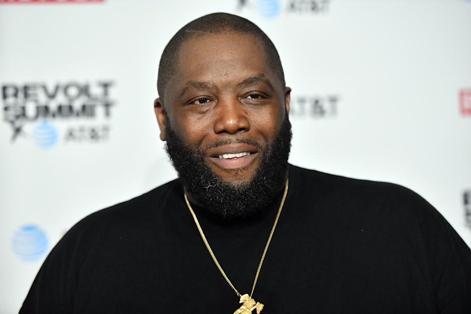 LOS ANGELES, CALIFORNIA - OCTOBER 25: Rapper Killer Mike attends the REVOLT & AT&T Summit on October 25, 2019 in Los Angeles, California.  (Photo by Scott Dudelson / Getty Images)
