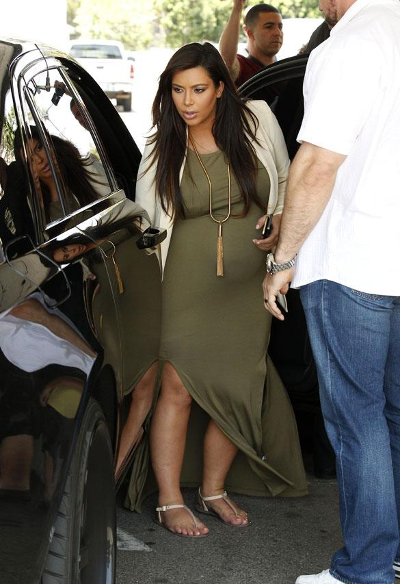 'I Don't Think That I Am': Kim Kardashian Expresses Concern Over Weight Loss After Birth