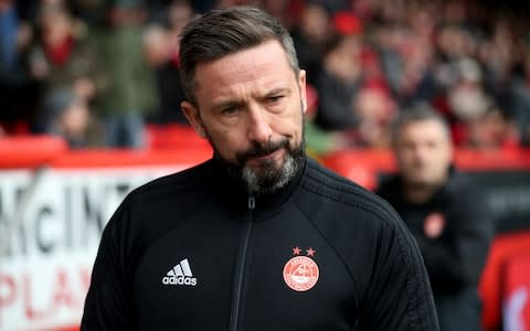 """Derek McInnes was the first West Brom player to ever be sent off in the Premier League. He laughs. """"I've been sent off twice in my career. Once against Berwick Rangers and once against Man Utd!"""" If you're going to do something, do it with gusto. McInnes is the much-coveted manager in charge of Aberdeen, an ex-Scotland international who began his playing career at Greenock Morton, appeared in the Champions League for Rangers and captained West Brom in the Premier League along a journeyman-like path. In charge at Pittodrie since March 2013, the 46-year-old has taken the club from a middling stay in the Scottish Premiership to winning silverware and offering a genuine challenge in a one-horse title race. How? """"I think you've got to have an idea, an identity to your team,"""" says McInnes, who is preparing his side to host league leaders Celtic on Sunday. """"I've always felt a team is an extension of the manager really. I wanted a team with attitude, pace, energy. """"In every team I played in there were always better players than me in it but I knew the importance that I felt from my teammates towards me and what I could bring to them. McInnes is a man on a mission Credit: PA """"You need certain types in your dressing room. It's not all about being a good player."""" As a player, McInnes was a natural leader. Neat and tidy on the ball, he worked tirelessly off it – qualities evident in his current captain, Graeme Shinnie, a player who operates as a physical manifestation of McInnes on the pitch: """"He demonstrates everything I want my team to be."""" Shinnie, like McInnes, has been largely overlooked at international level, struggling to break into a Scotland squad relatively flush with central midfielders. But Scottish football is not what it once was. If McInnes were a player in 2018, does he think he'd have earned more than just two caps? """"Yeh I do, aye. I think I was a long time really getting any recognition but I understand why. I was at Morton a long, long time in the Championshi"""