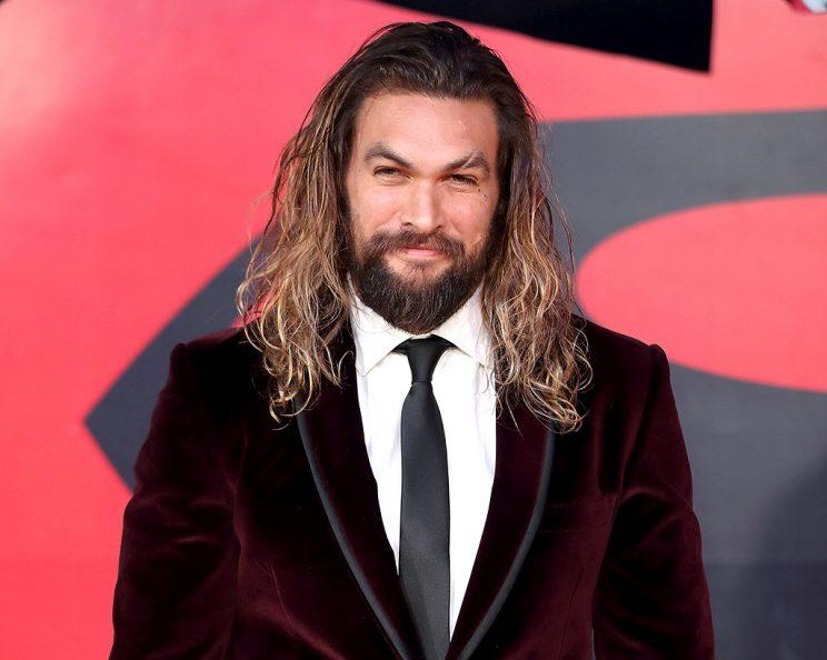 Jason Momoa may be intimidating, but he says he's a pretty nice guy. (Photo: Mike Marsland/WireImage)