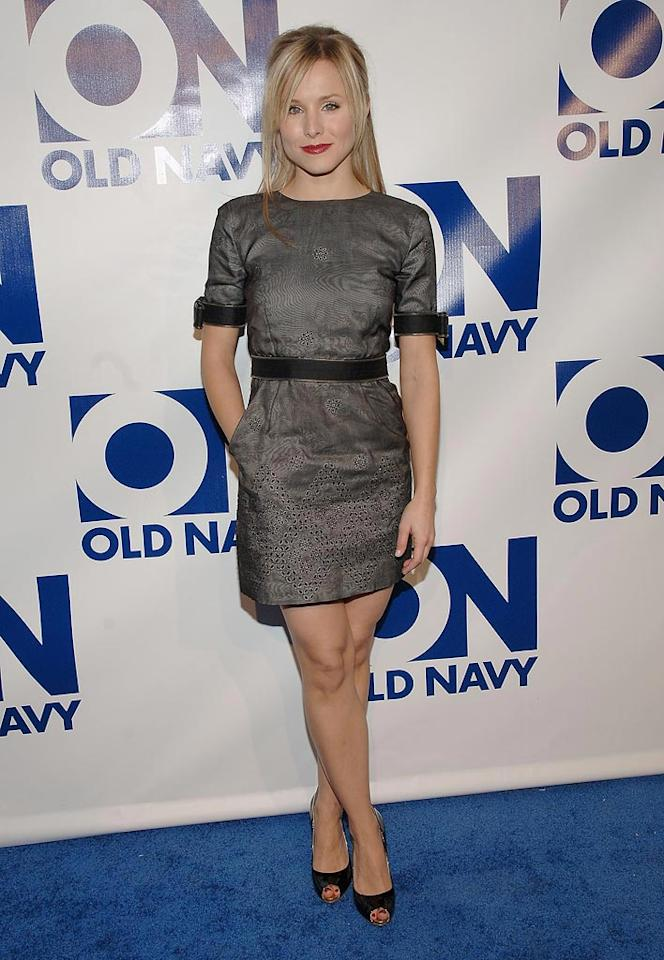 "Kristen Bell attends The Old Navy Celebrates ""New Year, New Old Navy"" event at the Eyebeam Atelier in New York. -  January 30,2008"