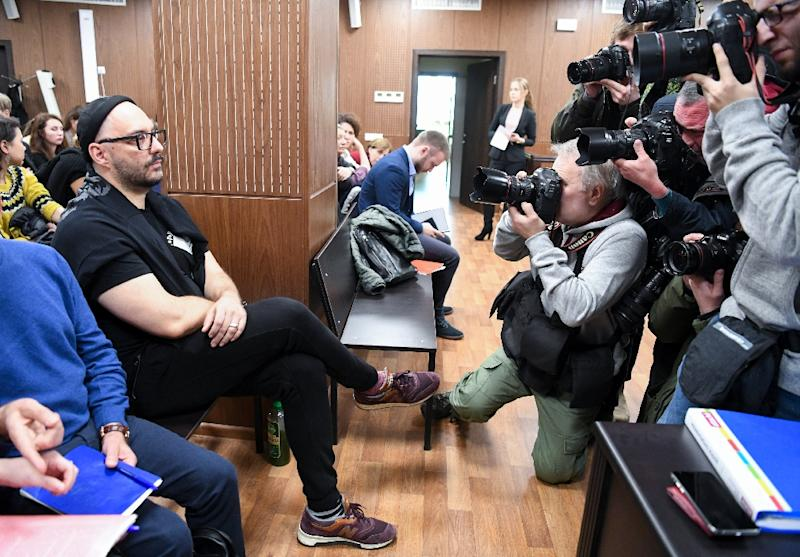 Russian stage and screen director Kirill Serebrennikov smashed taboos and revolutionised the Russian art scene in recent years (AFP Photo/Kirill KUDRYAVTSEV)