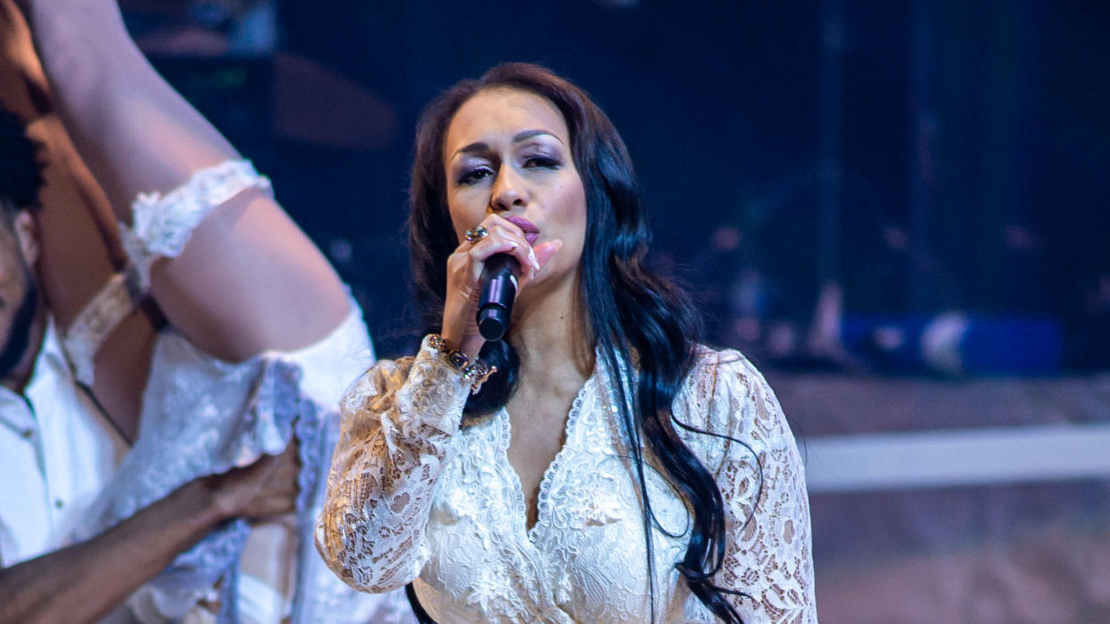 Rebecca Ferguson has made allegations about mistreatment earlier in her music career. (RvS.Media/Monika Majer/Getty Images)