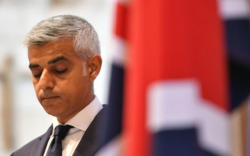 Sadiq Khan urged to get a grip of 'horrendous' London crime epidemic as detectives probe 100th homicide of the year - PA