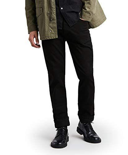 """<p><strong>Levi's</strong></p><p>amazon.com</p><p><strong>$27.80</strong></p><p><a href=""""https://www.amazon.com/dp/B000EHIKG0?tag=syn-yahoo-20&ascsubtag=%5Bartid%7C10054.g.34073873%5Bsrc%7Cyahoo-us"""" rel=""""nofollow noopener"""" target=""""_blank"""" data-ylk=""""slk:Shop Now"""" class=""""link rapid-noclick-resp"""">Shop Now</a></p><p>Everyone needs a pair of wear-everywhere black jeans, and if you don't have a pair, here's an affordable opportunity to change that. </p>"""