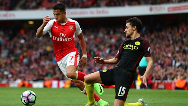Pep Guardiola praised Jesus Navas after Manchester City's draw with Arsenal and hailed the makeshift defender's performance.