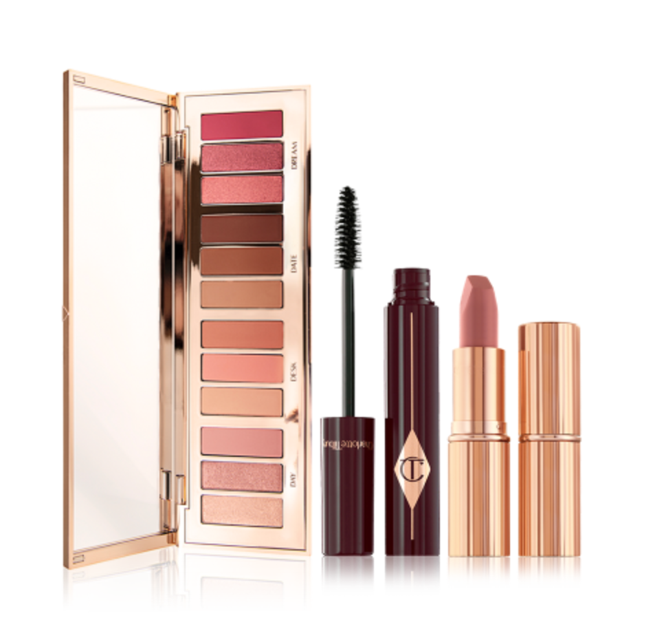 Pillow Talk Happiness Makeup Kit. Image via Charlotte Tilbury.