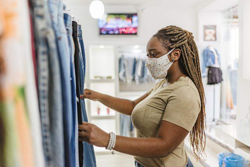 Is it safe to shop at thrift stores and online during COVID-19?