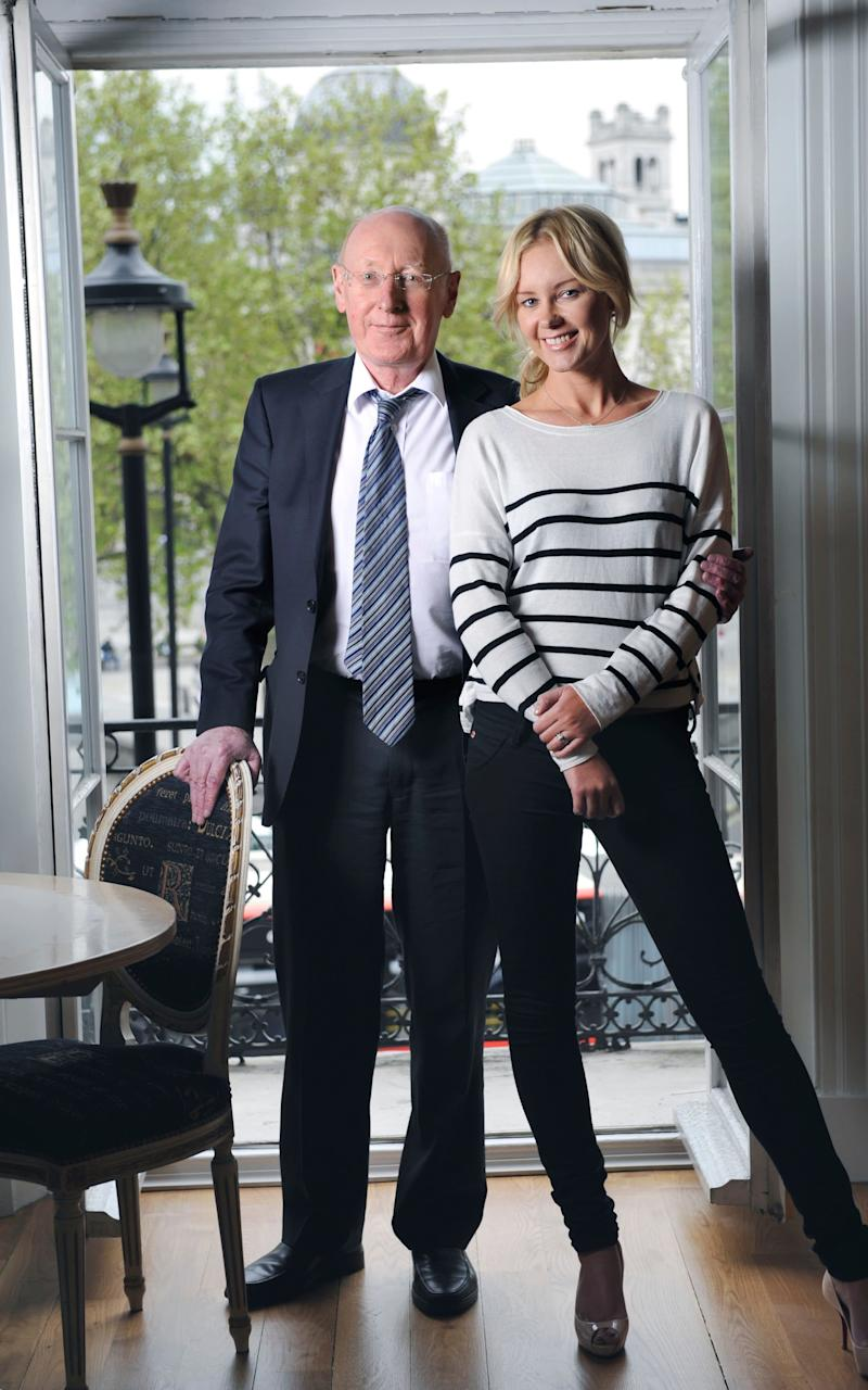 Sir Clive and Angie Sinclair - Credit: David Rose/Telegraph
