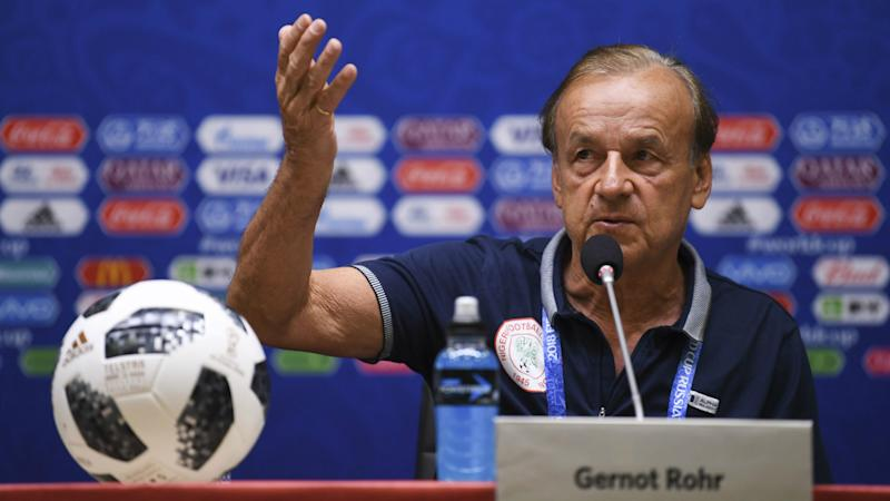 Nigeria coach Gernot Rohr closes door on new players for Afcon