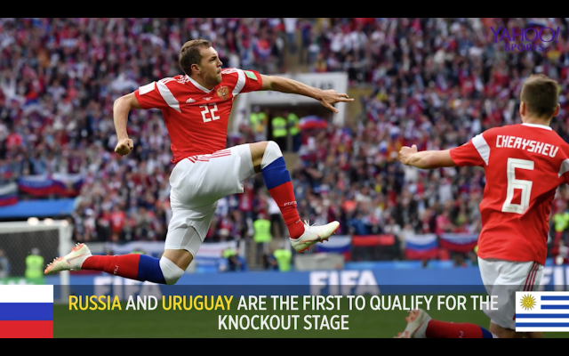 FC Yahoo's Ryan Bailey recaps the Uruguay and Saudi Arabia match and how Russia and Uruguay will face opponents from Group B in the Round of 16, which could be Portugal and Spain.