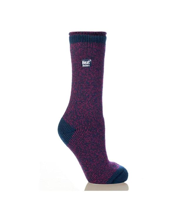 "<p>As any committed vegan knows, one of the biggest challenges is keeping your feet warm through snowy, bitter winters. This range of socks — for women, men, and children, and in thicknesses ranging from regular (shown) to lite and ultra-lite — is the answer. The thermal knit is a blend of nylon, polyester, acrylic, and elastane, and is almost impossibly soft and cozy. (<a href=""https://www.heatholders.com/products/ladies-twist-socks"" rel=""nofollow noopener"" target=""_blank"" data-ylk=""slk:$16, Heat Holders"" class=""link rapid-noclick-resp"">$16, Heat Holders</a>) </p>"