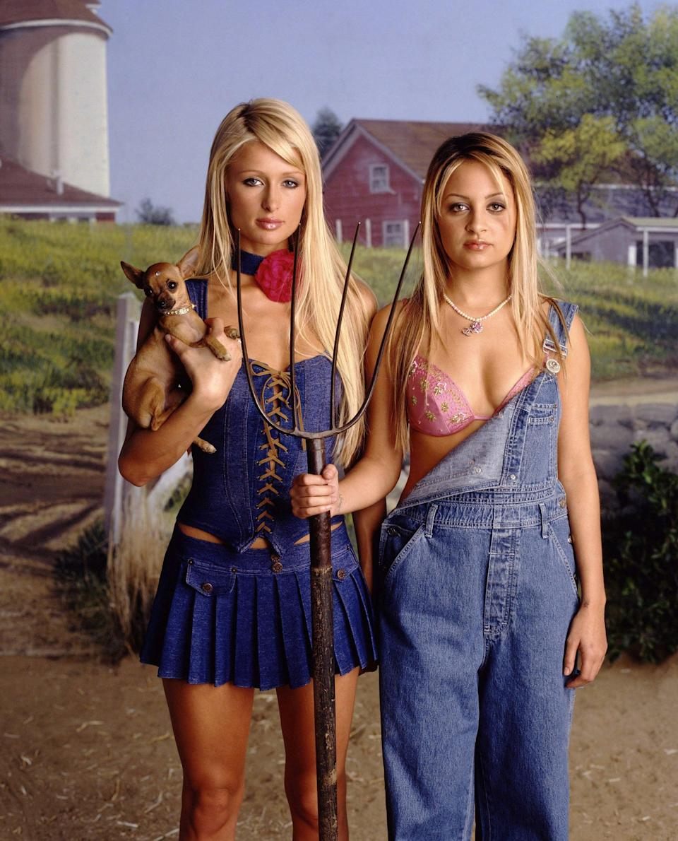 <p>How could we forget about this iconic denim moment?</p>