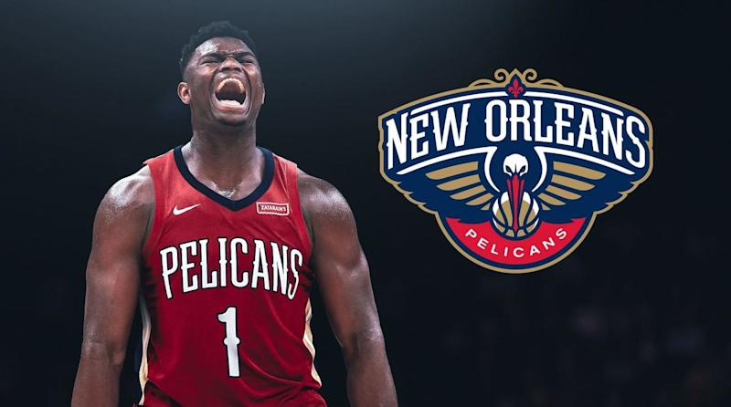 The Pelicans Land The Right To Select Zion Williamson In