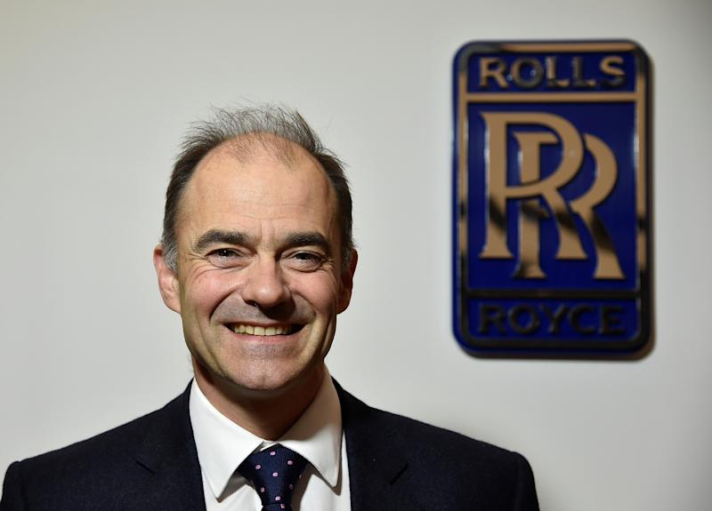 Warren East, CEO of Rolls-Royce, poses for a portrait at the company's aerospace engineering and development site in Bristol, Britain, December 17, 2015. REUTERS/Toby Melville/File Photo