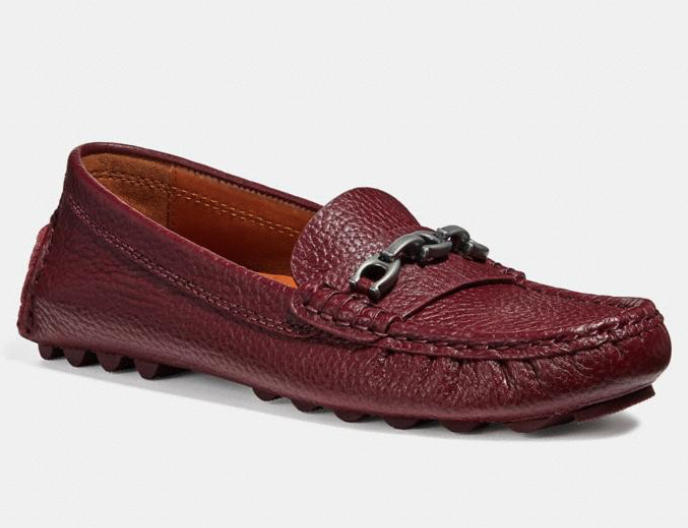 Crosby Driver Loafers. (Photo: Coach)