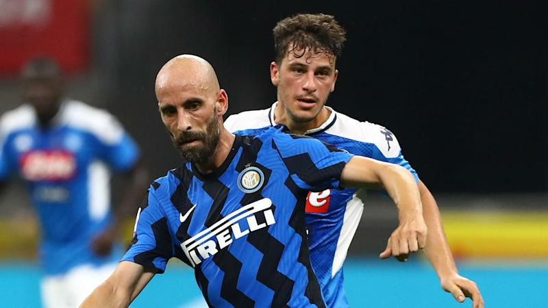 Borja Valero bids farewell to Inter