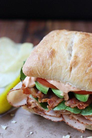 """<p>Bacon, lettuce, and tomatoes have never tasted so good. Make your own chipotle mayo to top this turkey BLT. </p><p><strong>Get the recipe at <a href=""""https://www.halfscratched.com/cajun-turkey-blt-chipotle-mayo/"""" target=""""_blank"""">Half-Scratched</a>.</strong></p><p><a class=""""body-btn-link"""" href=""""https://www.amazon.com/Hamilton-Beach-70730-Processor-Vegetable/dp/B008J8MJIQ/?tag=syn-yahoo-20&ascsubtag=%5Bartid%7C10050.g.1575%5Bsrc%7Cyahoo-us"""" target=""""_blank"""">SHOP FOOD PROCESSORS</a></p>"""
