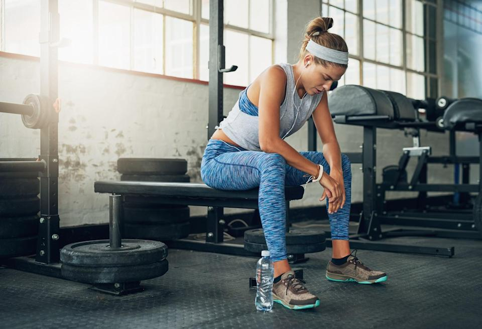 """<p>All the strength workouts should be performed as <a href=""""https://www.popsugar.com/fitness/photo-gallery/45098952/image/45098964/Styles-Techniques"""" class=""""link rapid-noclick-resp"""" rel=""""nofollow noopener"""" target=""""_blank"""" data-ylk=""""slk:supersets"""">supersets</a>. A superset is when you do two exercises back-to-back taking little to no rest in between moves. An example of this would be doing 10 reps of <a href=""""https://www.popsugar.com/fitness/photo-gallery/45516733/image/45516754/Barbell-Squat"""" class=""""link rapid-noclick-resp"""" rel=""""nofollow noopener"""" target=""""_blank"""" data-ylk=""""slk:barbell squats"""">barbell squats</a> immediately followed by 10 reps of <a href=""""https://www.popsugar.com/fitness/photo-gallery/7501338/image/7501917/Basic-Push-Up"""" class=""""link rapid-noclick-resp"""" rel=""""nofollow noopener"""" target=""""_blank"""" data-ylk=""""slk:push-ups"""">push-ups</a>.<br></p> <p>I've also included <a href=""""https://www.popsugar.com/fitness/List-Compound-Exercises-45678748"""" class=""""link rapid-noclick-resp"""" rel=""""nofollow noopener"""" target=""""_blank"""" data-ylk=""""slk:compound exercises"""">compound exercises</a>, which are exercises that work multiple groups of muscle like <a href=""""https://www.popsugar.com/fitness/Deadlift-Variations-40400480"""" class=""""link rapid-noclick-resp"""" rel=""""nofollow noopener"""" target=""""_blank"""" data-ylk=""""slk:deadlifts"""">deadlifts</a>, into each workout. I do this because they give you the most bang for your buck and help you burn more calories and fat because they require more energy to perform.</p>"""