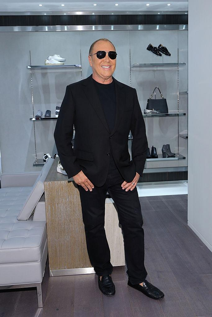 Michael Kors is famous for his monochromatic personal style. (Photo: Getty)