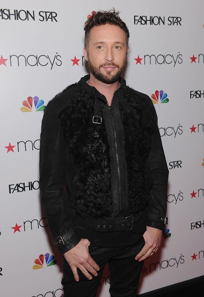 "Designer and 'Fashion Star' participant Nicholas Bowes attends the ""<a target=""_blank"" href=""http://tv.yahoo.com/fashion-star/show/47285"">Fashion Star</a>"" celebration at Macy's Herald Square on March 13, 2012 in New York City."