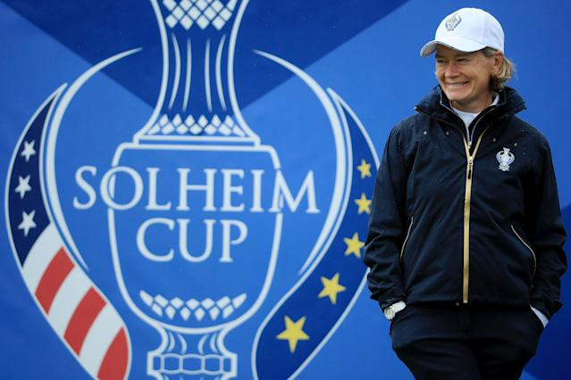 Catriona Matthew will captain Europe at the Solheim Cup at Gleneagles this week