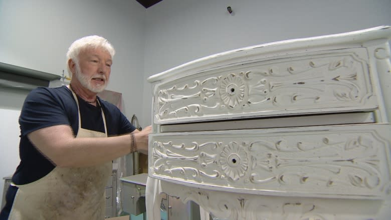 Through paint and patience, this craftsman gives furniture a second life