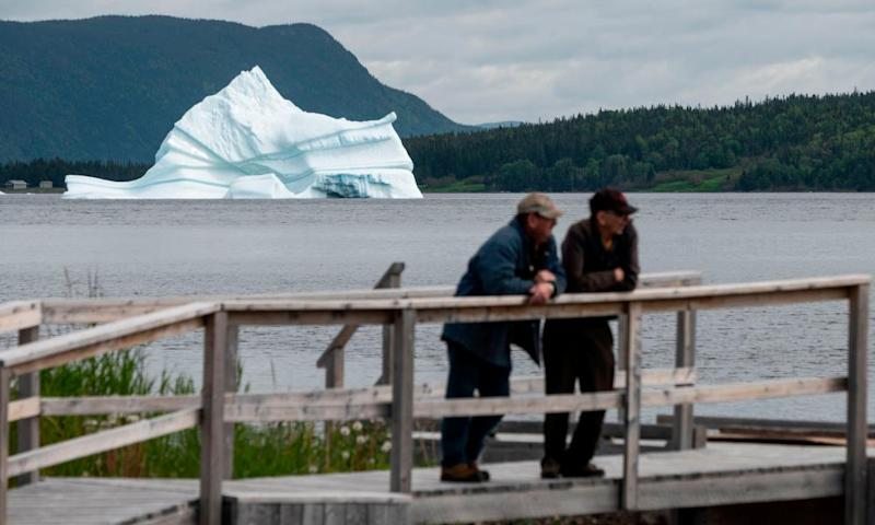 Iceberg sightseeing has become a tourism draw in Newfoundland.