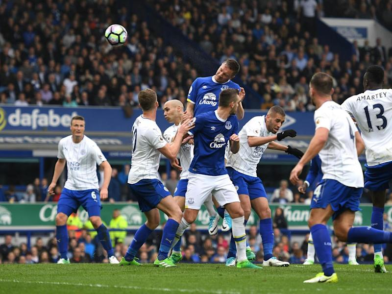 Jagielka put the home side in front (Getty)