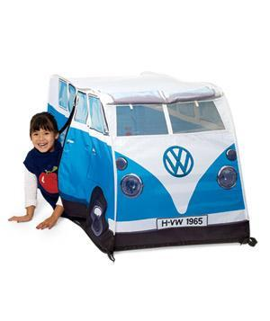 "<div class=""caption-credit""> Photo by: Jens Mortensen</div><b>VW Camper Play Tent</b> <p> A van-shaped tent: Can you dig it? Fits three kids, or one nostalgic baby boomer in the fetal position. <br> </p> <p> <b>To buy:</b> $50, <a href=""http://themonsterfactoryusa.com/kids-vw-tent.html"" rel=""nofollow noopener"" target=""_blank"" data-ylk=""slk:themonsterfactoryusa.com"" class=""link rapid-noclick-resp"">themonsterfactoryusa.com</a>. <br> </p><b>See More on RealSimple.com:</b> <br> <br> <a href=""http://www.realsimple.com/work-life/money/saving/affordable-holidays-00100000069319/index.html?xid=yshi-rs-gift-guide"" rel=""nofollow noopener"" target=""_blank"" data-ylk=""slk:How to Make the Holidays More Affordable"" class=""link rapid-noclick-resp"">How to Make the Holidays More Affordable</a> <br> <a href=""http://www.realsimple.com/new-uses-for-old-things/new-uses-christmas/gift-tags-drink-labels-00100000089064/index.html"" rel=""nofollow noopener"" target=""_blank"" data-ylk=""slk:New Uses for Christmas Things"" class=""link rapid-noclick-resp"">New Uses for Christmas Things</a> <br> <a href=""http://www.realsimple.com/holidays-entertaining/gifts/for-her/unique-gifts-for-women-00100000091027/index.html?xid=yshi-rs-gift-guide"" rel=""nofollow noopener"" target=""_blank"" data-ylk=""slk:25 Unique Gifts for Women"" class=""link rapid-noclick-resp"">25 Unique Gifts for Women</a> <br>"