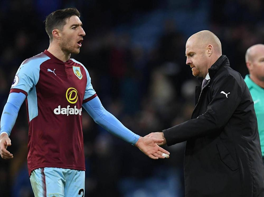 Dyche now has Burnley on the up and up (AFP/Getty Images)