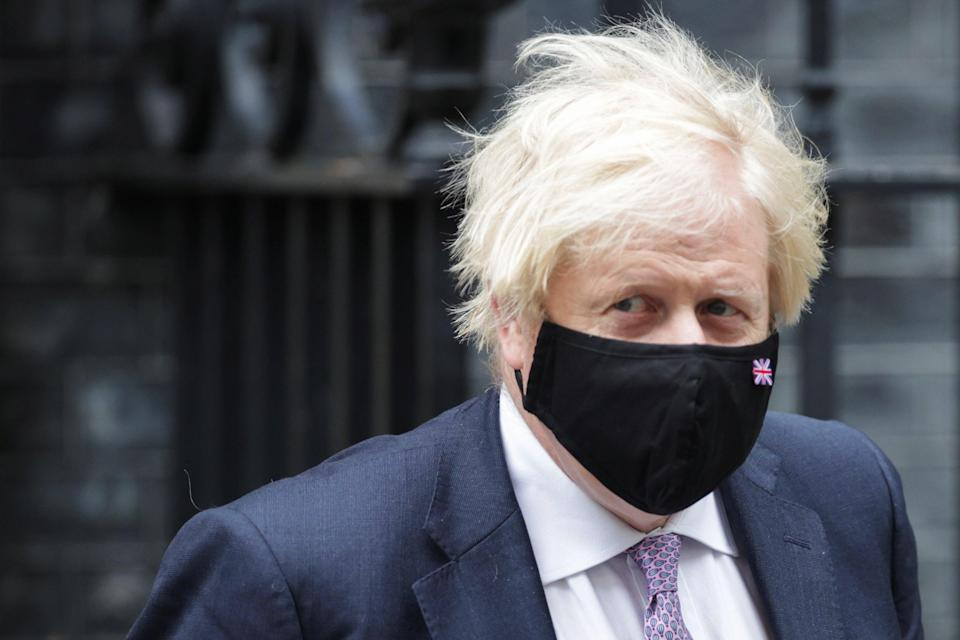 'Behind each mask lies another mask' – Dominic Cummings on Boris Johnson (Reuters)