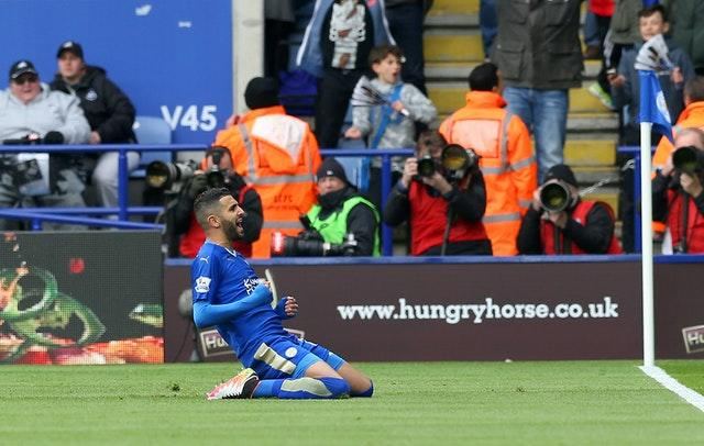 Mahrez was outstanding when Leicester won the Premier League in 2016