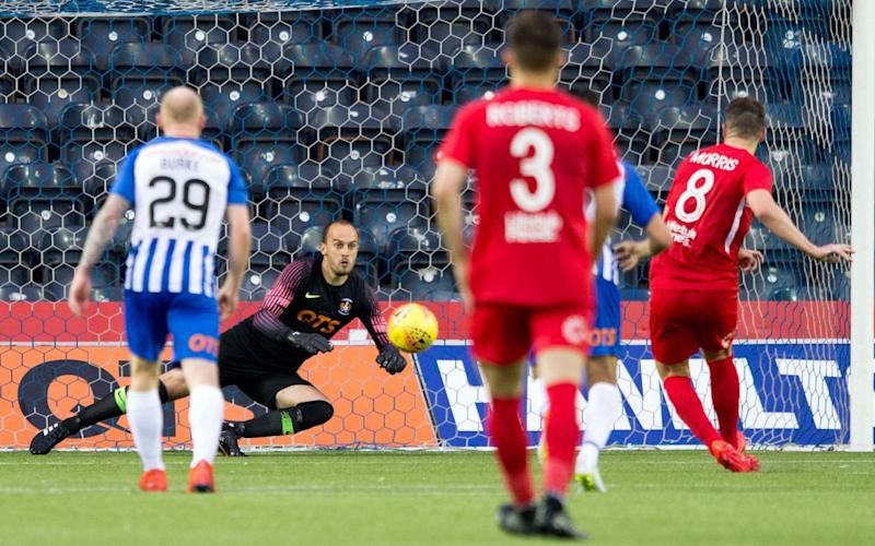 Kilmarnock suffered one of the all-time worst defeats for a Scottish in European competition - PA