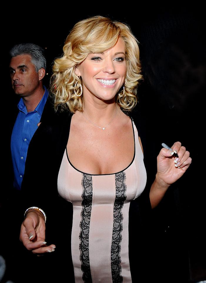 """Jon & Kate Plus 8"" star Kate Gosselin will tie on her dancing shoes for the new season of ""Dancing With the Stars,"" and even her ex-husband is happy for her! ""Congratulations to Kate for joining the new season of DWTS. I am thrilled for her. She has my support and vote,"" the reality dad, 32, tweeted Thursday night. Ajax/MAP/<a href=""http://www.splashnewsonline.com"" target=""new"">Splash News</a> - March 1, 2010"