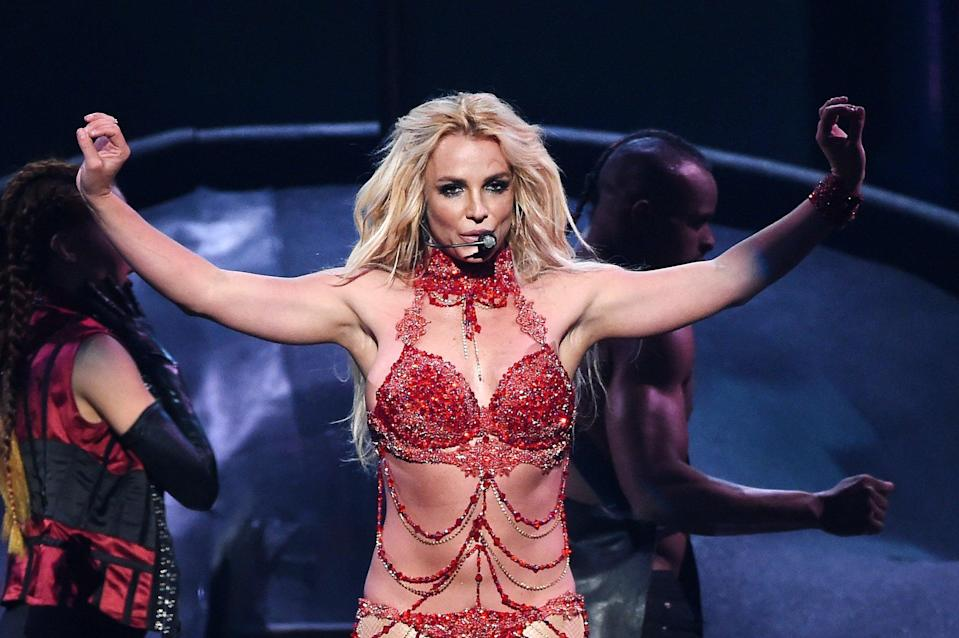 File image: Britney Spears performs onstage during the 2016 Billboard Music Awards (Getty Images)